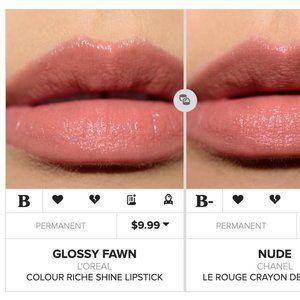 L'Oreal Glossy Fawn Lipstick